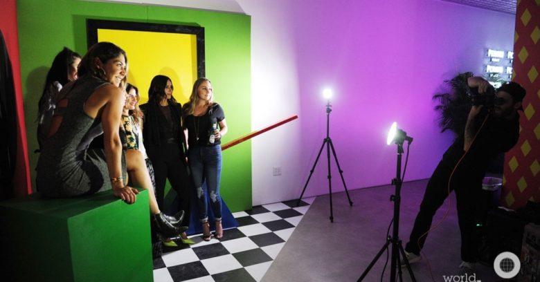 Ana Rivera, Tatiana Meira, Jenny Farias, DJ YSL, Ana Fleitas, Katya Bravo, & Jenny Watson